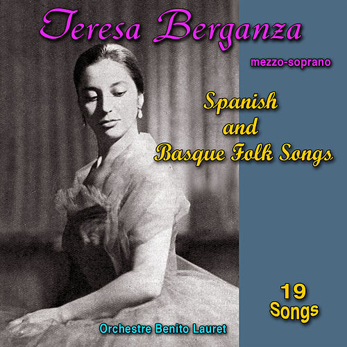 Spanish and Basque Folk Songs de Teresa Berganza