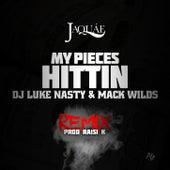 My Pieces Hittin' Remix feat. Mack Wild & DJ Luke Nasty by Jaquae