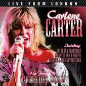 Live From London de Carlene Carter