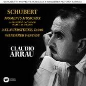 Schubert: Moments Musicaux, Klavierstücke, Wandererfantasie von Claudio Arrau
