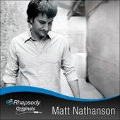 Rhapsody Original by Matt Nathanson