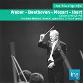 Weber - Beethoven - Mozart - Ibert, Concert du 08/12/1955, Orchestre National, André Cluytens (dir), C. Haskil (piano) de Orchestre national de la RTF and André Cluytens