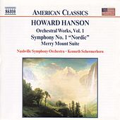 Symphony No. 1/Merry Mount Suite by Howard Hanson