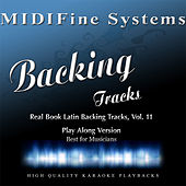 Real Book Latin Backing Tracks, Vol. 11 (Play Along Version) by MIDIFine Systems
