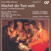 TELEMANN, G.P.: Machet die Tore weit / Nun komm der Heiden Heiland / In dulci jubilo (Stuttgart Motet Choir) by Various Artists