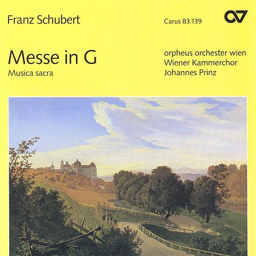SCHUBERT, F.: Mass No. 2 / Magnificat in C major / Deutsche Messe / Hymne an die heilige Mutter Gottes (Vienna Chamber Choir, Prinz) by Various Artists