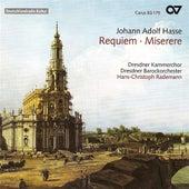 HASSE, J.: Requiem in E flat major / Miserere in D minor (Dresden Chamber Choir) de Britta Schwarz
