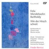 MENDELSSOHN, Felix: Church Music, Vol. 4 - Psalm 114 / Psalm 42 / Lauda Sion (Stuttgart Chamber Choir) von Various Artists