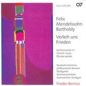 MENDELSSOHN: Church Music, Vol. 6 - Psalm 115 / O Haupt voll Blut und Wunden / Wer nur den lieben Gott lasst walten von Various Artists