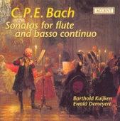 Bach, C.P.E.: Flute Sonatas von Barthold Kuijken