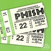 PHISH: 11/22/94 Jesse Auditorium- University of Missouri, Columbia, MO (Live) de Phish