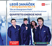Janáček: String Quartets & On an Overgrown Path, JW VIII/17 de Quartetto Energie Nove