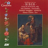 Biber: Violin Sonatas, 1681 by Monica Huggett