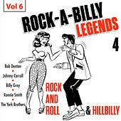 Rock a Billy Legends 4, Vol. 6 by Various Artists