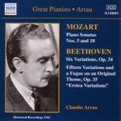 Claudio Arrau: Mozart / Beethoven von Various Artists