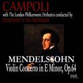 Mendelssohn: Violin Concerto in E minor, Op. 64 de Alfredo Campoli