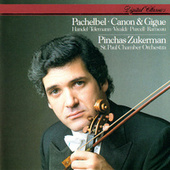 Pachelbel: Canon & Gigue & Works By Handel, Telemann, Vivaldi, Rameau & Purcell de Pinchas Zukerman