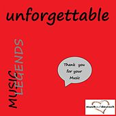 Music Legends - Unforgettable (Thank You for Your Music) de Various Artists