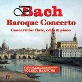 J.S. & C.P.E. Bach: Concerti for Flute, Cello & Piano von Volker Hartung