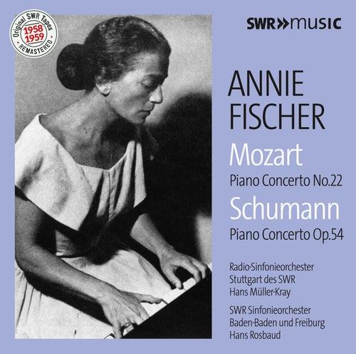 Mozart: Piano Concerto No. 22 in E-Flat Major, K. 482 - Schumann: Piano Concerto in A Minor, Op. 54 by Annie Fischer