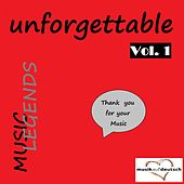 Music Legends - Unforgettable, Vol. 1 (Thank You for Your Music) de Various Artists