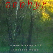 Zephyr – A Gentle Sample Of Sirocco's Music de Sirocco