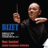Bizet: Symphony in C Major - Carmen Suite No. 1 - L'Arlésienne Suites Nos. 1 & 2 by Marc Soustrot