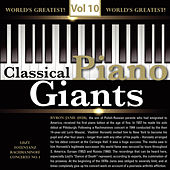 Classical - Piano Giants, Vol.10 by Byron Janis