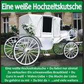 Eine weiße Hochzeitskutsche von Various Artists