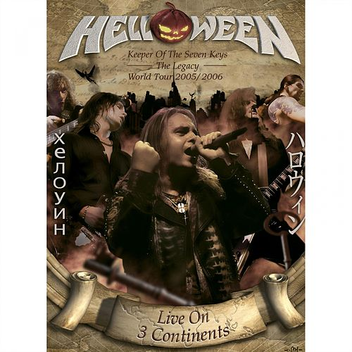 Live on 3 Continents de Helloween