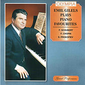 Emil Gilels plays Schubert, Chopin & Prokofiev by Emil Gilels