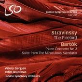 Stravinsky: The Firebird - Bartók: Piano Concerto No. 3 / The Miraculous Mandarin by Various Artists