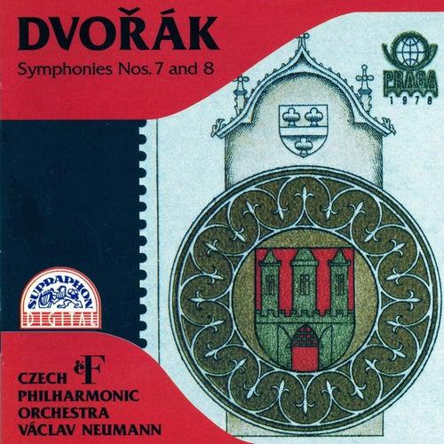 Dvořák: Symphony No. 7 & 8 by Czech Philharmonic Orchestra