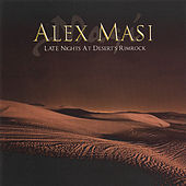 Late Night At Desert's Rimrock by Alex Masi