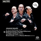 Brahms: Ein Deutsches Requiem, Op. 45 by Thomas Oliemans