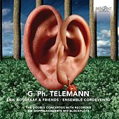 Telemann: The Double Concertos with Recorder by Various Artists