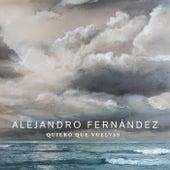 Quiero Que Vuelvas de Alejandro Fernández