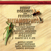 Britten: 6 Metamorphoses after Ovid; Temporal Variations; Phantasy; 2 Insect Pieces / Mozart: Oboe Quartet de Heinz Holliger