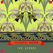 Colorful Garden by Ike Quebec