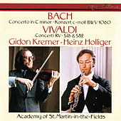 J.S. Bach: Concerto in C Minor / Vivaldi: Concerto in G Minor; Violin Concerto in D Major von Gidon Kremer