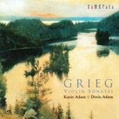 Grieg: Violin Sonatas Nos. 1 - 3 von Doris Adam Karin Adam