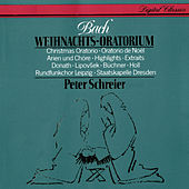 J.S. Bach: Christmas Oratorio (Highlights) von Peter Schreier