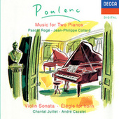 Poulenc: Sonata for 2 Pianos; Violin Sonata etc de Pascal Rogé