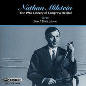Violin Recital: Milstein, Nathan - VITALI / BACH, J.S. / MILSTEIN / MENDELSSOHN / CHOPIN / WIENIAWSKI by Various Artists