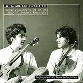 Mozart: Duos for Violin and Viola - Handel: Variations for Violin and Viola by Sergi Alpiste