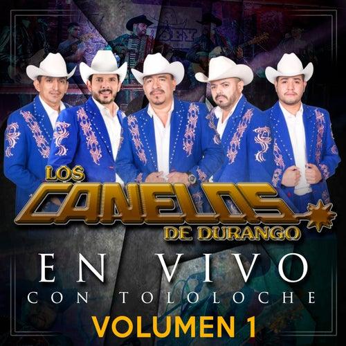 En Vivo Con Tololoche Vol. 1 by Los Canelos De Durango