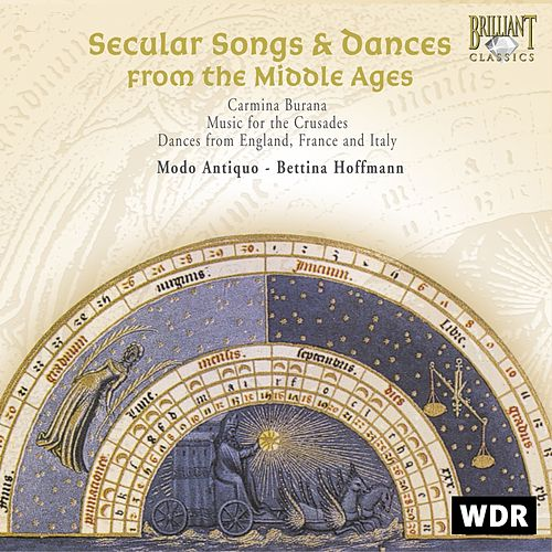 Secular Songs & Dances from the Middle Ages by Modo Antiquo