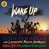 Wake Up (feat. Ladysmith Black Mambazo, Carlos Santana & Narada Michael Walden) de Jennifer Saran