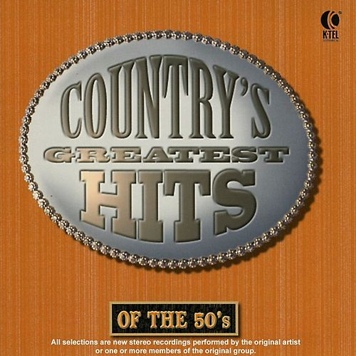 Country's Greatest Hits of the 50's by Various Artists
