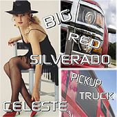 Big Red Silverado Pickup Truck by Celeste